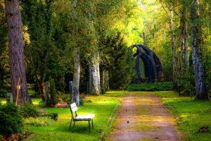 Friedhof klassische Bestattungsform